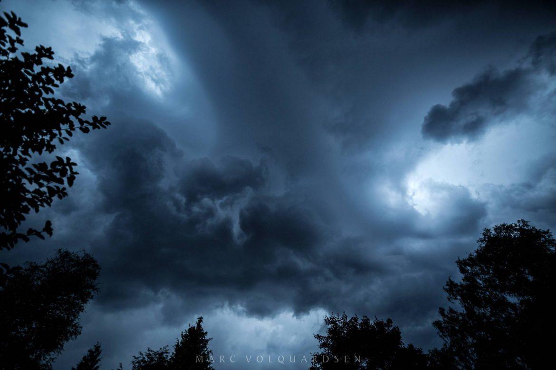Gewitterwolken übermir