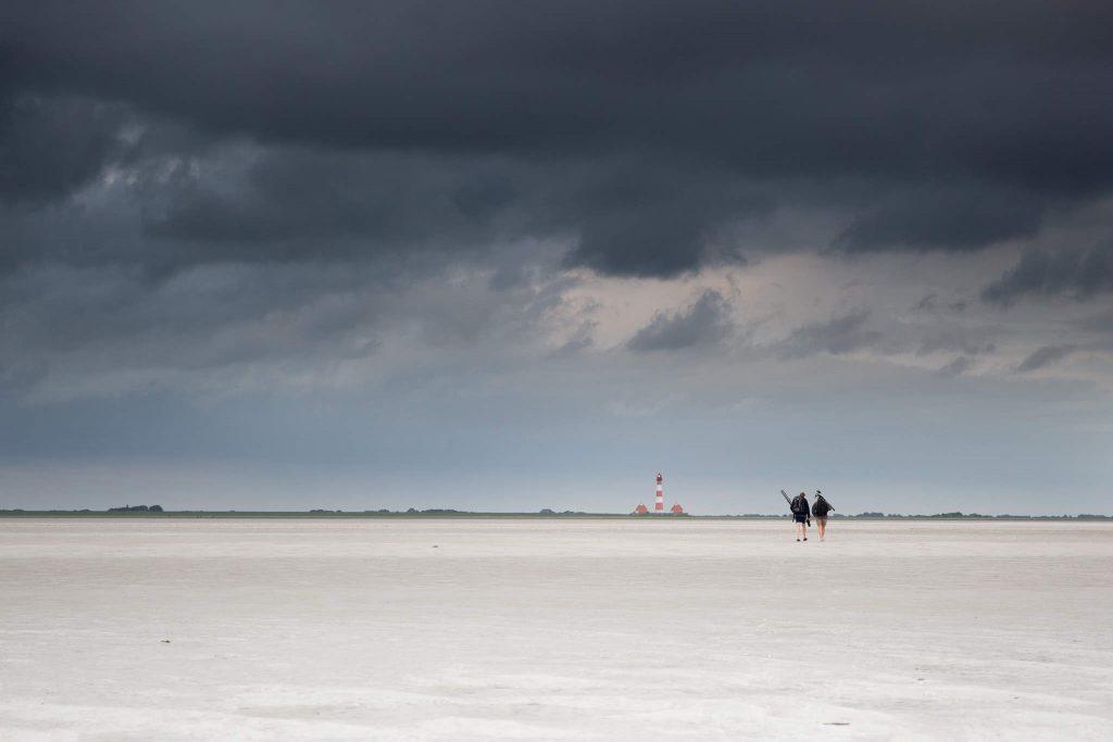 Einsame Wanderer