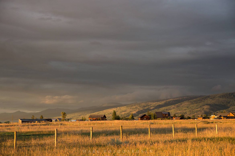 Goldene Stunde im Teton Valley