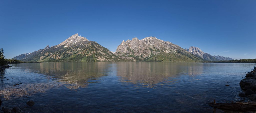 Grand Teton National Park - Jenny Lake Panorama (1001)