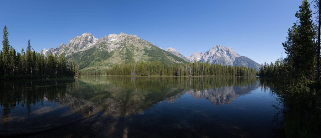 Grand Teton Nationalpark - Mount St. John & Mount Moran (1161)