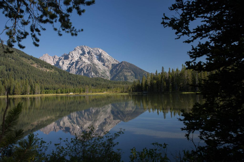 Grand Teton Nationalpark - String Lake & Mount Moran (1153)