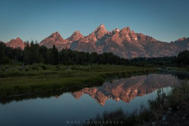 Red Teton Range