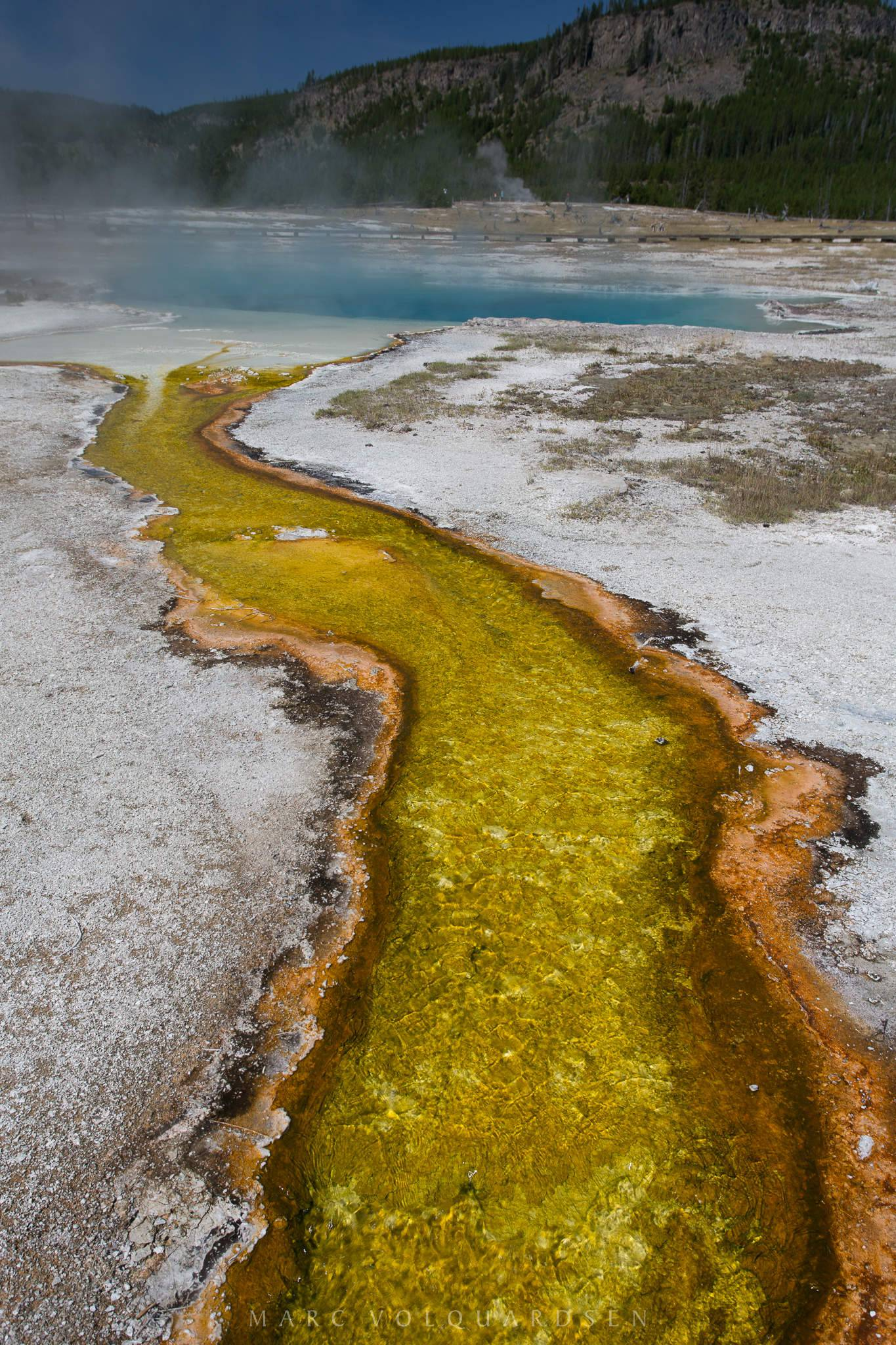 Yellowstone - Biscuit Basin: Sapphire Pool (2687)