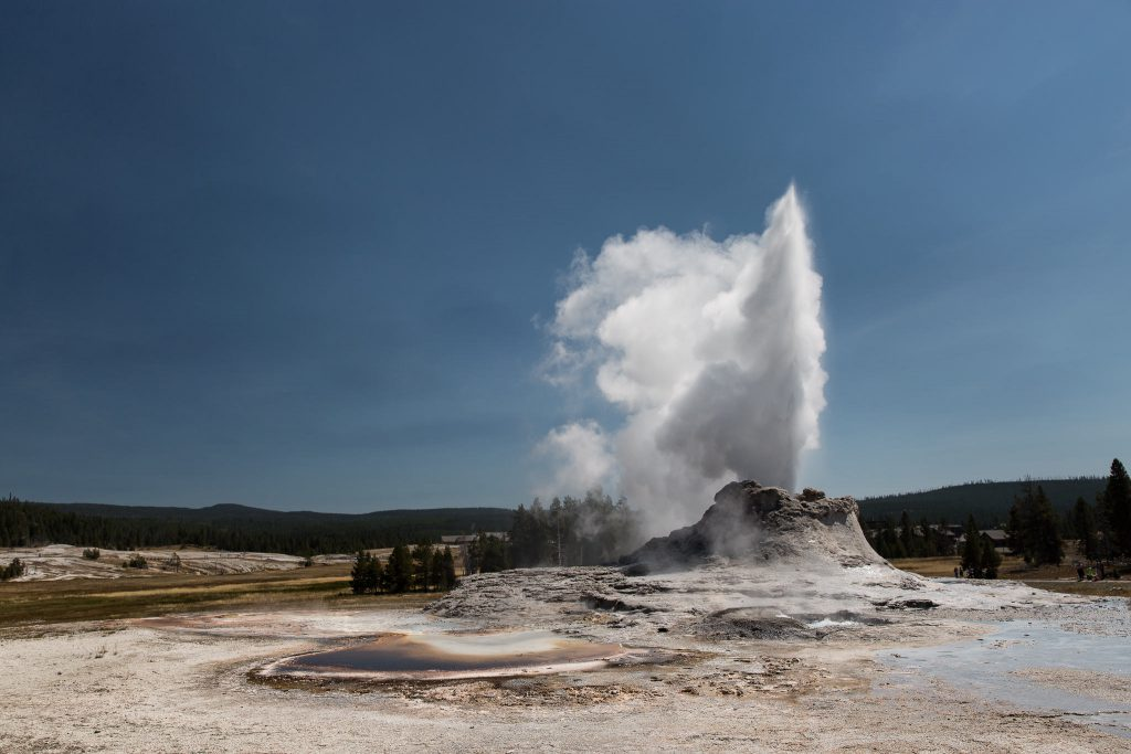 Yellowstone - Castle Geyser (2827)