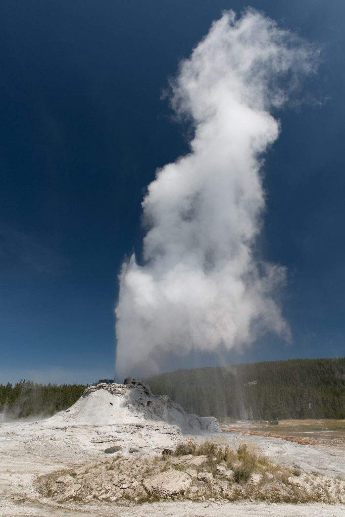 Yellowstone - Castle Geyser (2845)