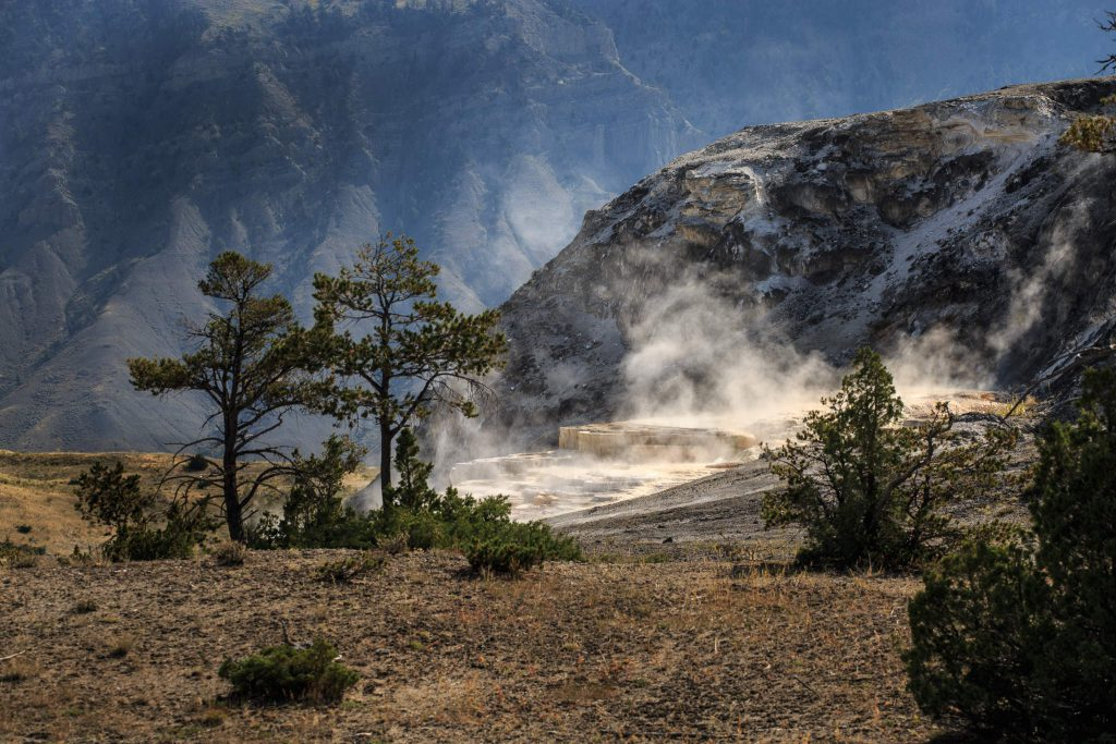 Yellowstone - Mammoth Hot Springs - Jupiter Terraces (3907)