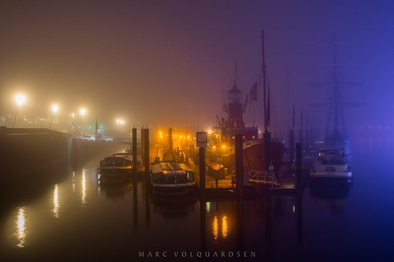 Farbenfroher Nebel