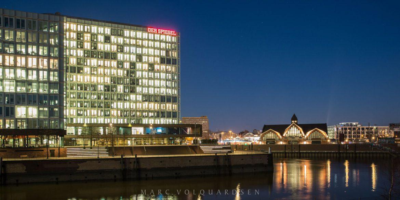 Hamburg — Ericusspitze und Deichtorhallen