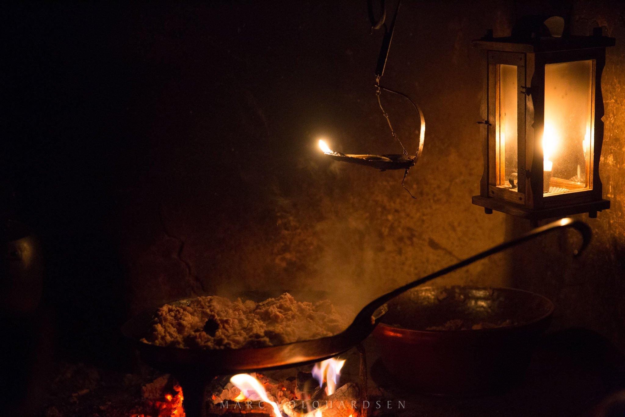 Kiekeberg - Feuer & Licht - Herdfeuer (0200)