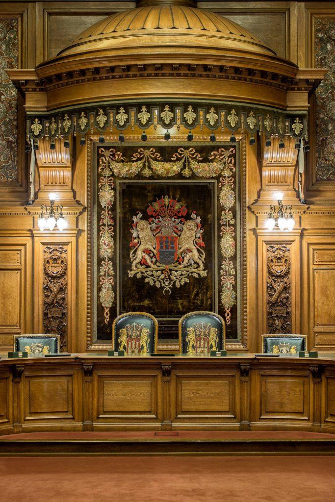 Hamburger Rathaus - Ratsstube (0018)