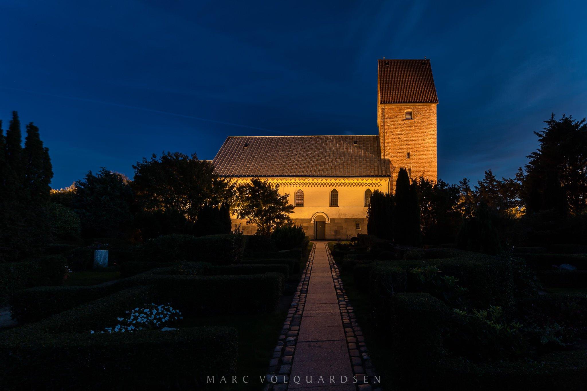 Keitum - St. Severin bei Nacht (0519)