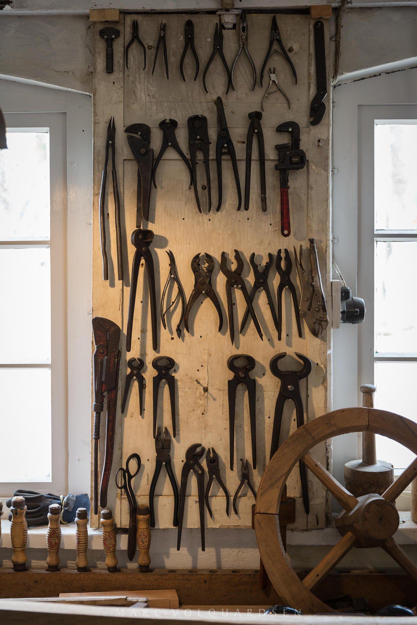Stellmacherei Werkzeuge (0052)