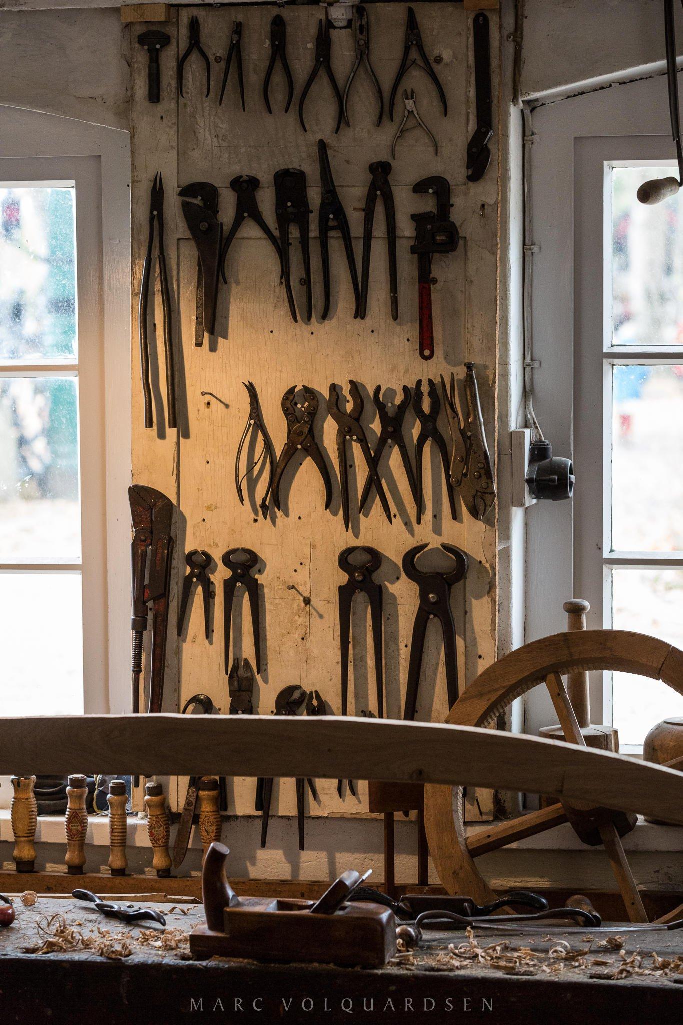 Stellmacherei Werkzeuge (0212)