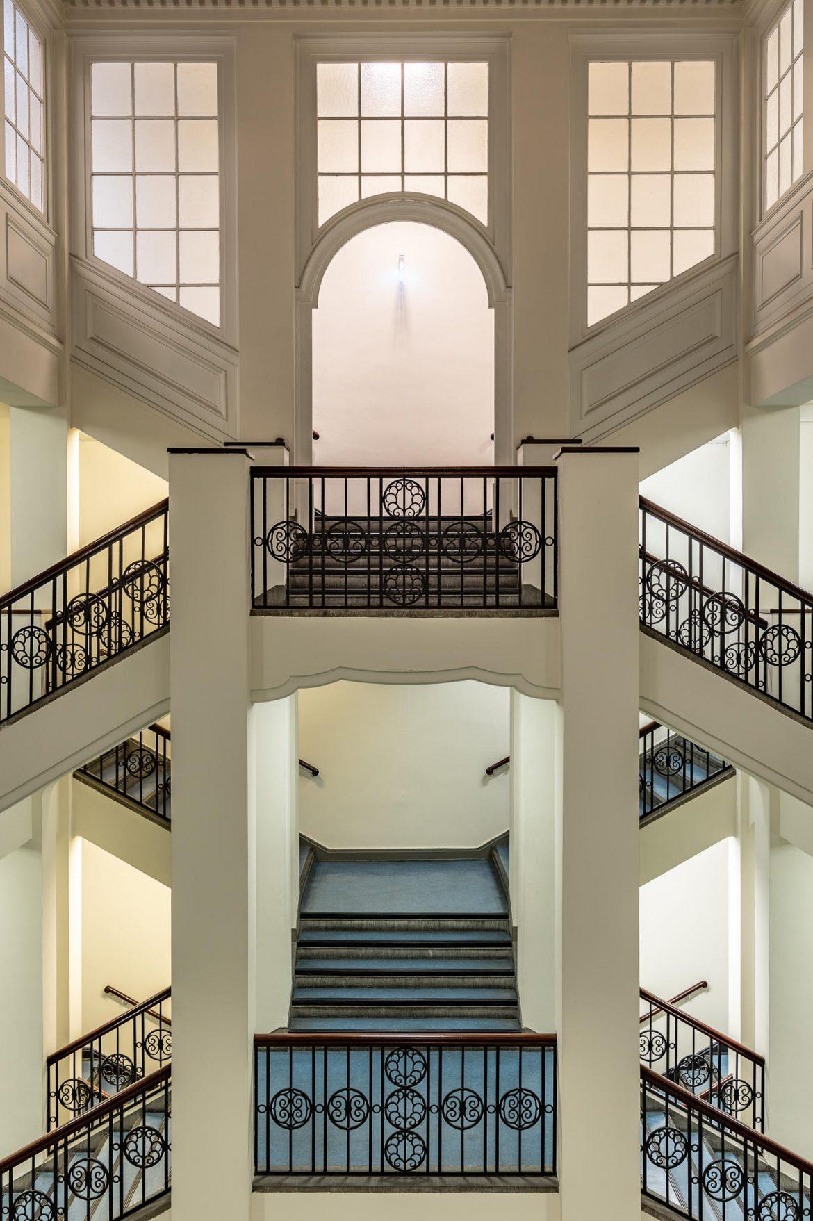 Handwerkskammer Hamburg — Treppenhaus im Innungsflügel