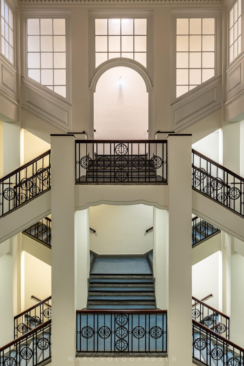 Chamber of Crafts of Hamburg — Staircase