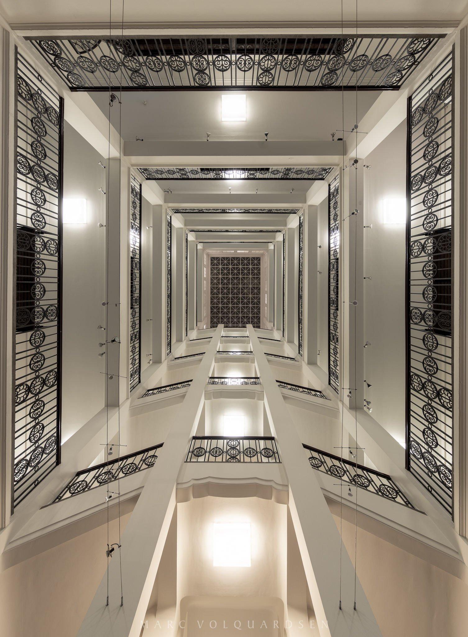 Handwerkskammer Hamburg - Treppenhaus des Innungsflügels (0033)