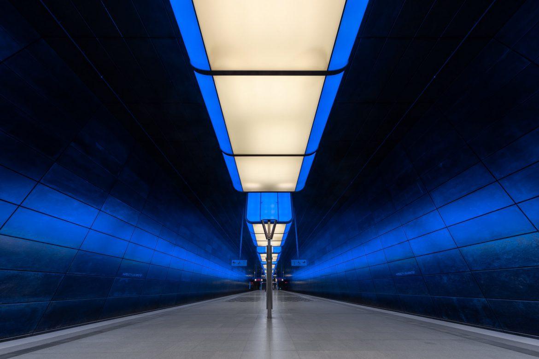 Underground station Hafencity Universität