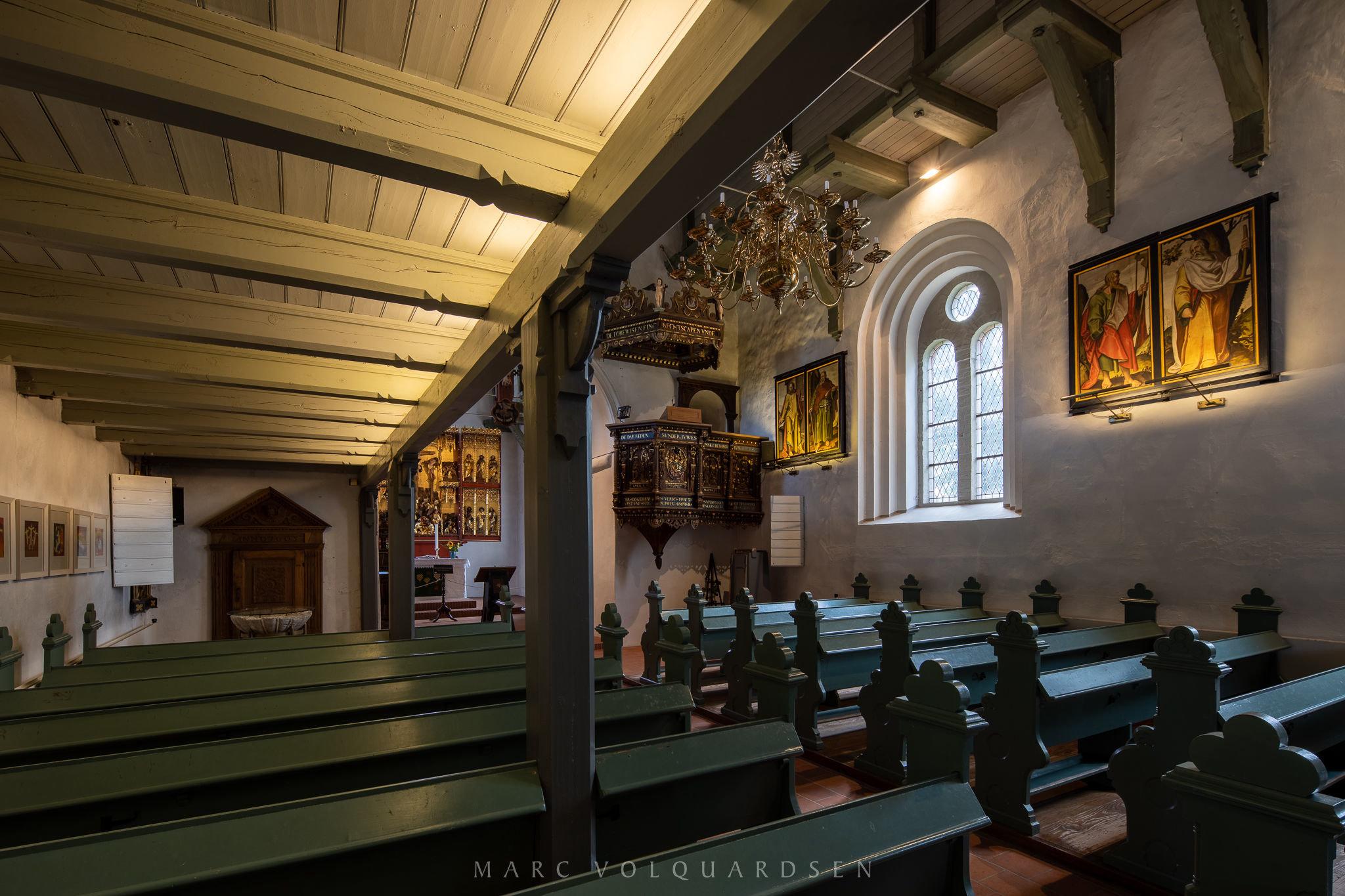 St. Jakobi Church Schwabstedt (1538)