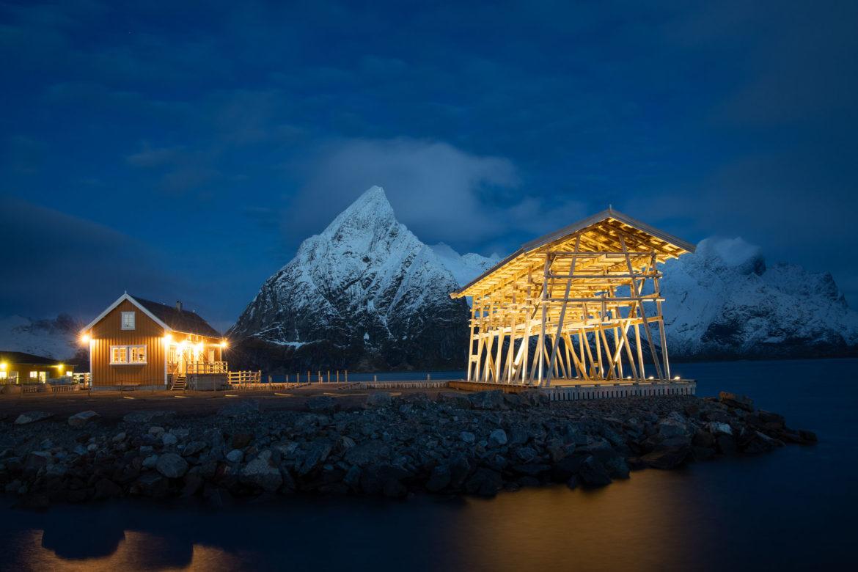 Reinefjord at dawn