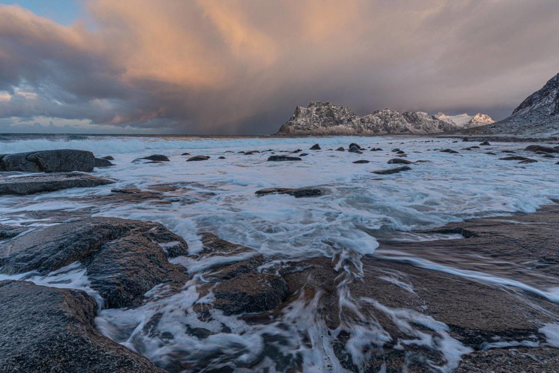 Vordergrund ist wichtig — Vestvågøya