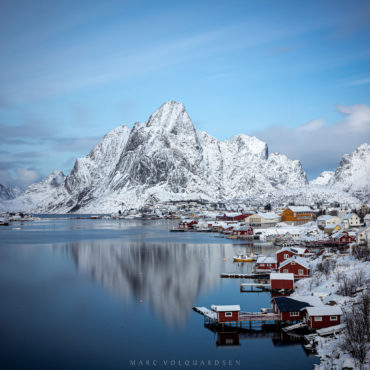 Reine im Winter
