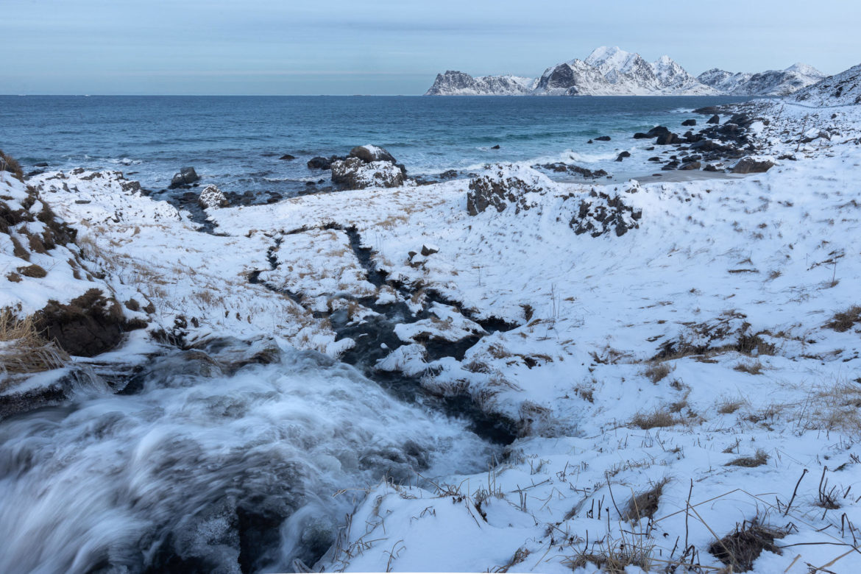Waterfall to the Nordic Sea