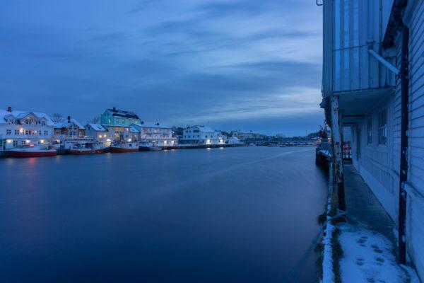 The port of Hennigsvær (3136)