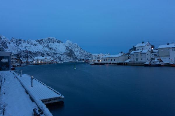 The port of Hennigsvær (3165)