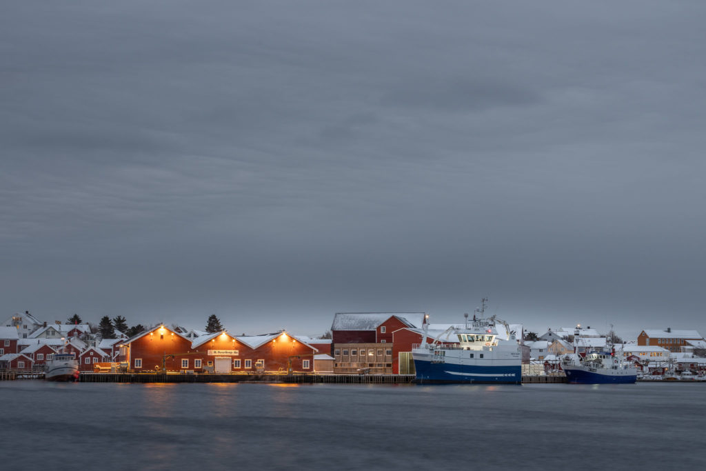 Lofoten - Reine Fishing Port (3980)