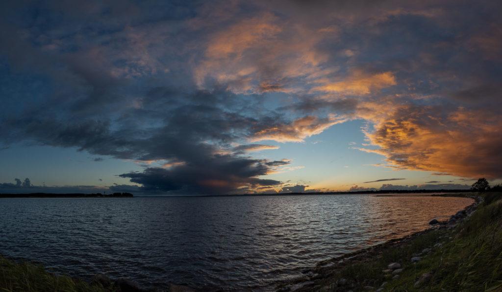Holnis - Evening mood panorama (0860)