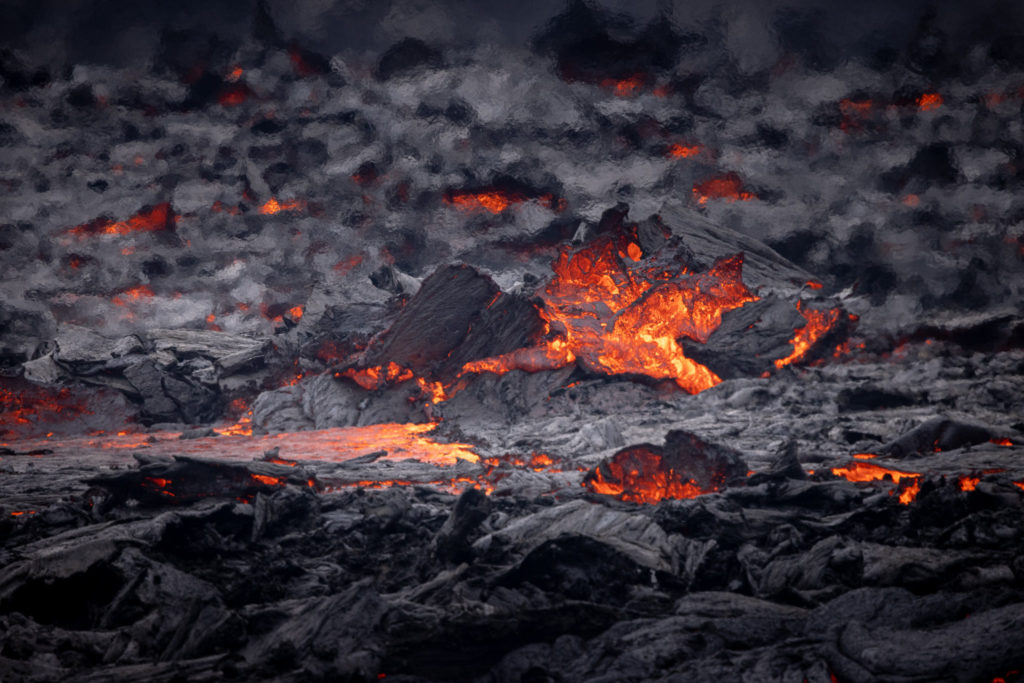 Lava flow at Fagradalsfjall Volcano (0602)
